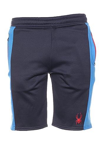 spyder shorts / bermudas garçon de couleur bleu