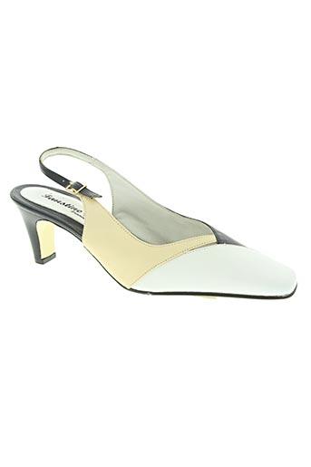 faustine chaussures femme de couleur bleu