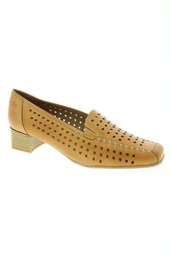 caprice chaussures femme de couleur marron