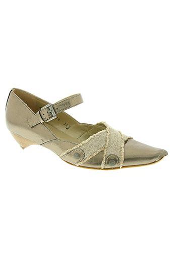 fidji chaussures femme de couleur beige