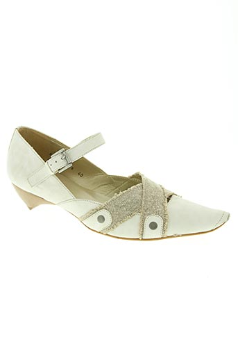 fidji chaussures femme de couleur blanc