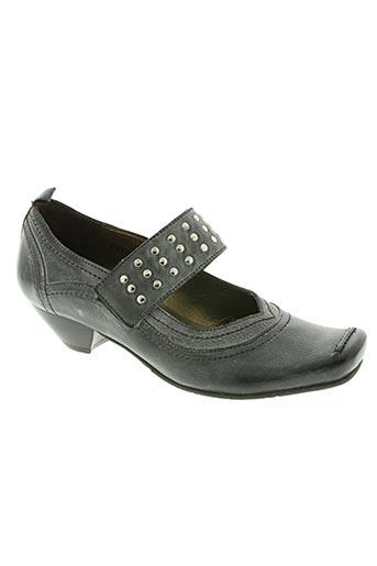 fidji chaussures femme de couleur gris
