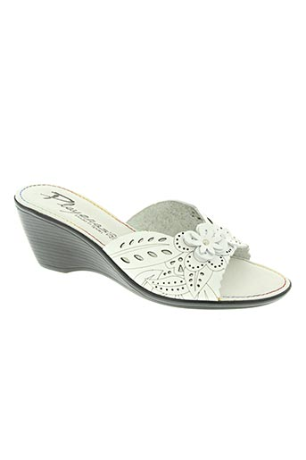 playeras chaussures femme de couleur blanc