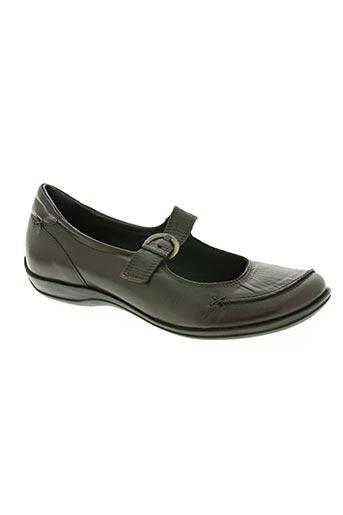 giulia chaussures femme de couleur marron