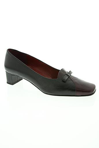 laura pacini chaussures femme de couleur noir