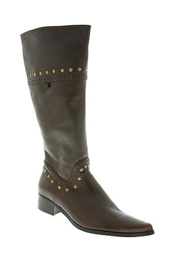 trinity chaussures femme de couleur marron