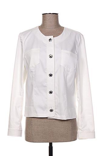 weinberg vestes femme de couleur blanc