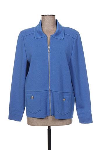 pauporté vestes femme de couleur bleu