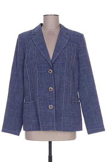 Veste chic / Blazer bleu WEINBERG pour femme