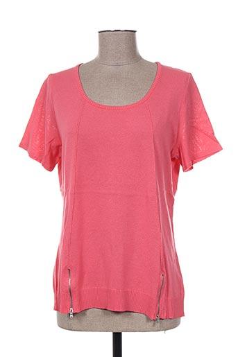 pauporté t-shirts femme de couleur orange