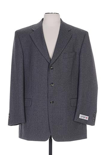 greiff vestes homme de couleur gris
