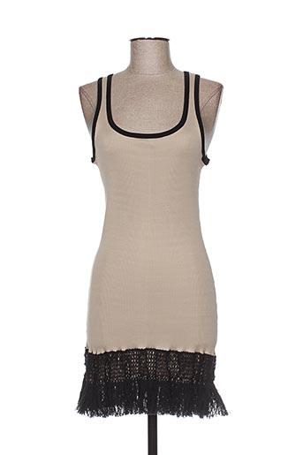 arti maglia robes femme de couleur beige