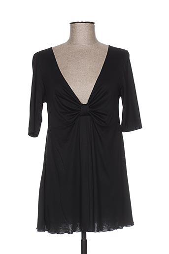 arti maglia t-shirts femme de couleur noir
