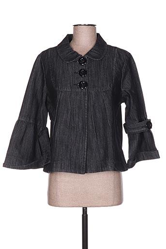 Veste casual noir DOLCE & ROSA pour femme