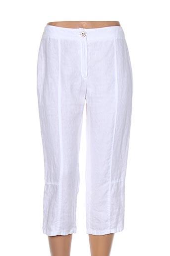 meri EFFI_CHAR_1 esca pantacourts femme de couleur blanc