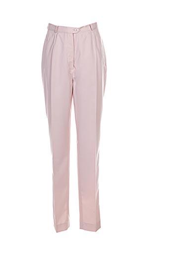 Pantalon casual rose BREAL pour femme