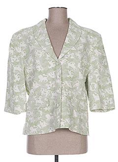 Veste chic / Blazer vert ABAYA pour femme