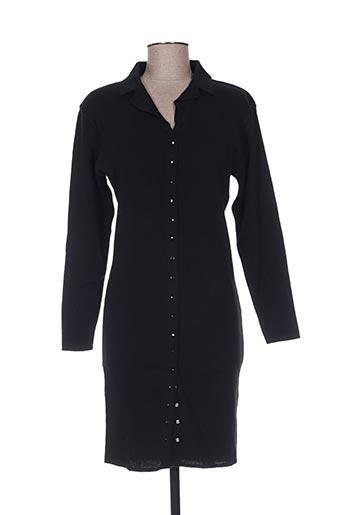 diapositive robes femme de couleur noir
