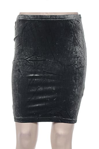 Jupe mi-longue bleu DIAPOSITIVE pour femme