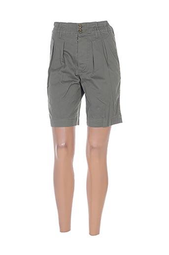 et vous shorts / bermudas femme de couleur vert