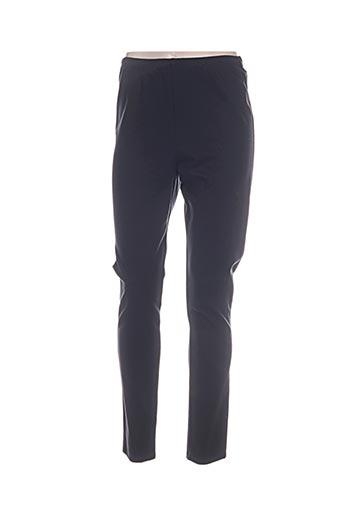 jean delfin pantalons femme de couleur noir