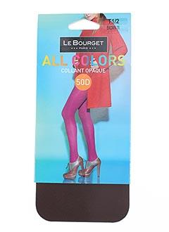 Bas LE BOURGET Femme De Couleur Marron En Soldes Pas Cher - Modz 8c2521cb4bf