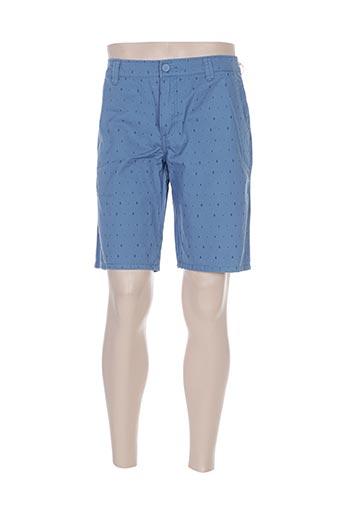 cbk shorts / bermudas homme de couleur bleu