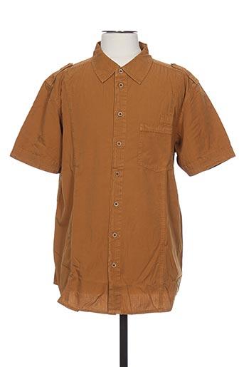 icepeak chemises homme de couleur marron