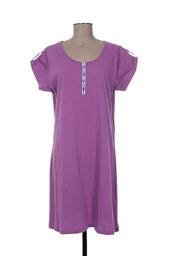 éliane nuit femme de couleur violet