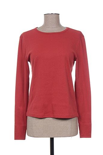 20/20 t-shirts femme de couleur orange