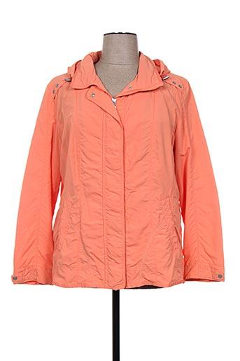 concept k manteaux femme de couleur orange