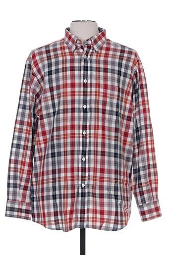 belloni chemises homme de couleur rouge