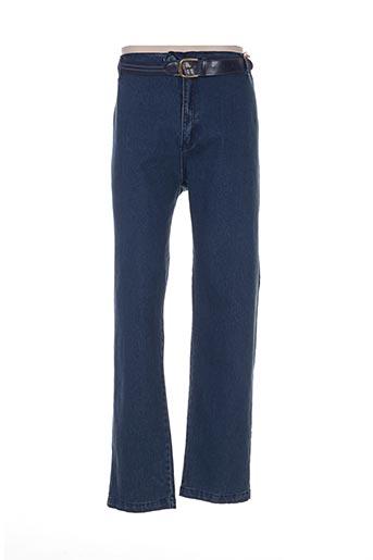 kiplay pantalons homme de couleur bleu