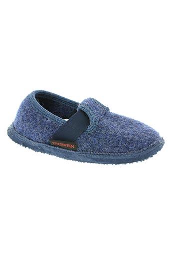 giesswein chaussures garçon de couleur bleu