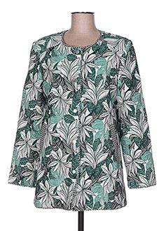 Veste chic / Blazer vert CHARLISE pour femme