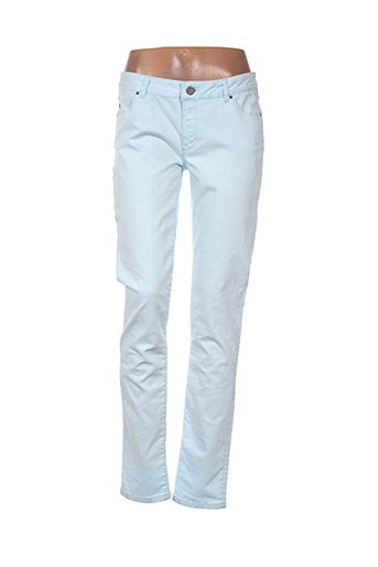 Jeans coupe slim bleu I.CODE (By IKKS) pour femme