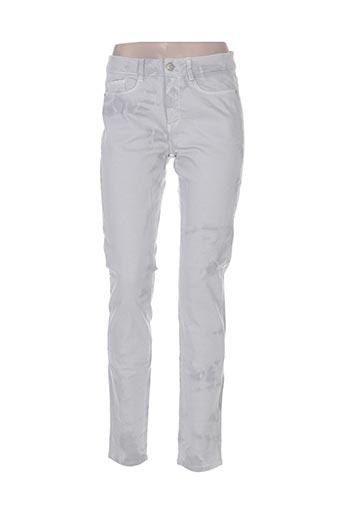 cks jeans femme de couleur gris