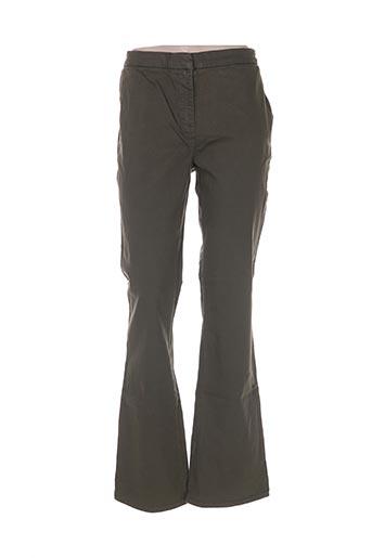 libelle pantalons femme de couleur vert