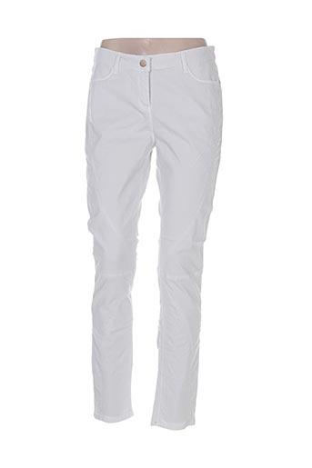 Jeans coupe slim gris FRIDAY pour femme
