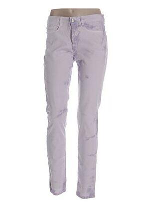 Jeans coupe slim violet EXPRESSO pour femme