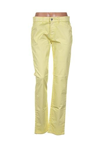 l'histoire de louise pantalons femme de couleur jaune