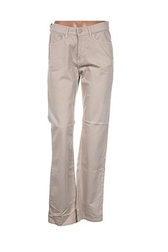 Pantalon casual beige D'AUVRY pour femme