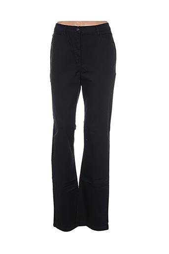 Pantalon casual noir D'AUVRY pour femme