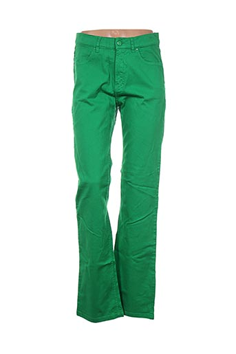 Pantalon casual vert D'AUVRY pour femme