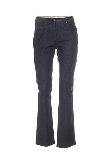 natan jeans femme de couleur noir