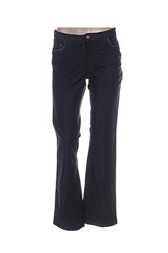 image jeans femme de couleur noir