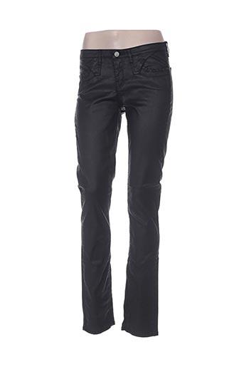 cks pantalons femme de couleur noir