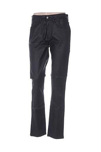 Pantalon casual noir GAFAIR pour femme