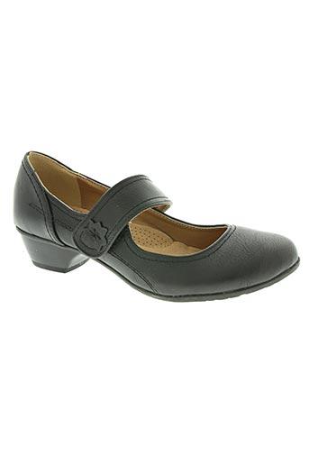 ixoo chaussures femme de couleur noir