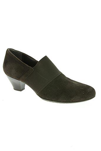 confortissimo chaussures femme de couleur marron